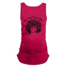The Curly Haired Girl Maternity Tank Top
