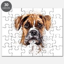 Boxer Painting Puzzle