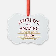 World's Most Amazing Libra Ornament
