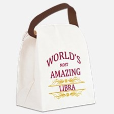 World's Most Amazing Libra Canvas Lunch Bag