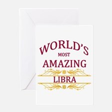 World's Most Amazing Libra Greeting Card