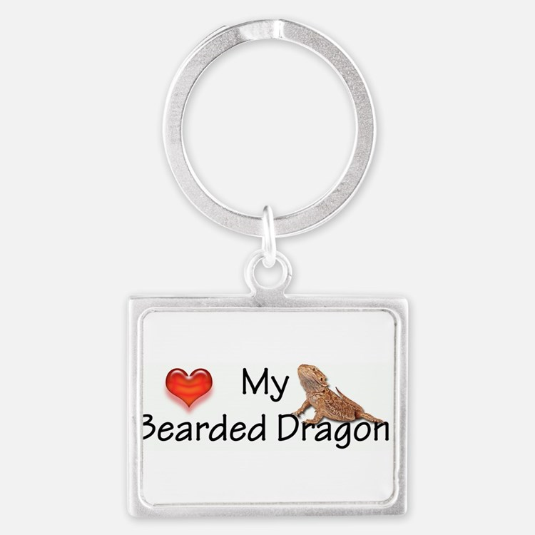 Cute Dragon pictures Landscape Keychain