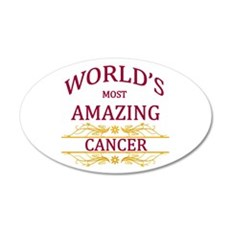 World's Most Amazing Cancer Wall Decal