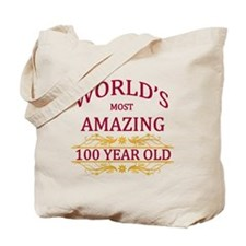 100th. Birthday Tote Bag