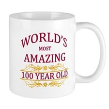 100th. Birthday Small Mug