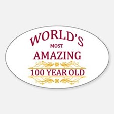 100th. Birthday Decal