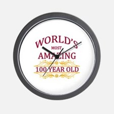 100th. Birthday Wall Clock