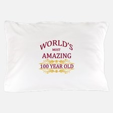 100th. Birthday Pillow Case