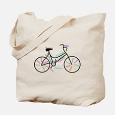 Motivational Words Bike Hobby or Sport Tote Bag
