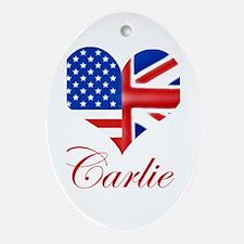 Carlie Oval Ornament