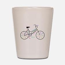 Motivational Words Bike Hobby or Sport Shot Glass