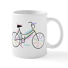 Motivational Words Bike Hobby or Sport Mugs