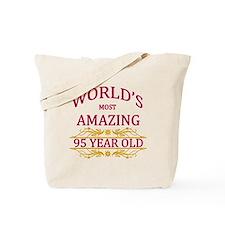 95th. Birthday Tote Bag