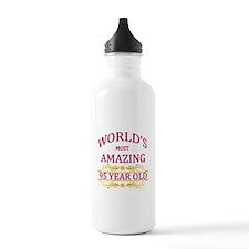 95th. Birthday Water Bottle