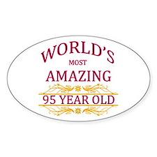 95th. Birthday Decal