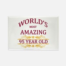 95th. Birthday Rectangle Magnet