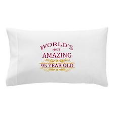95th. Birthday Pillow Case
