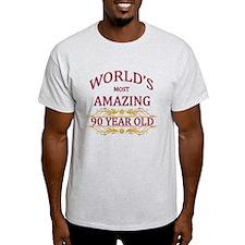 90th. Birthday T-Shirt