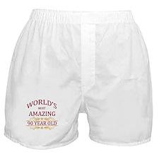 90th. Birthday Boxer Shorts