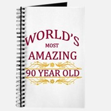 90th. Birthday Journal