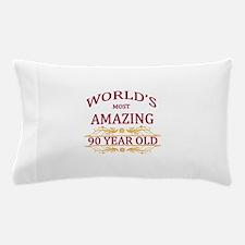 90th. Birthday Pillow Case