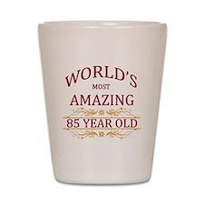85th. Birthday Shot Glass