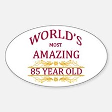 85th. Birthday Decal