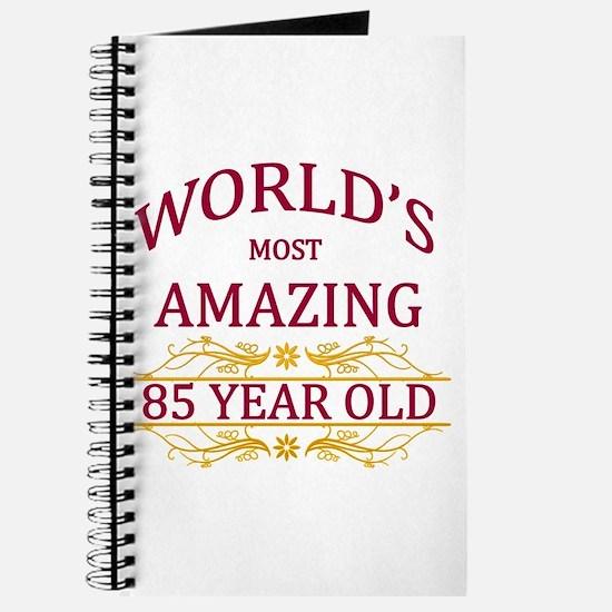 85th. Birthday Journal