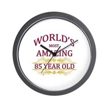 85th. Birthday Wall Clock