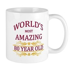 80th. Birthday Mug