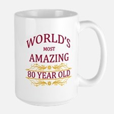 80th. Birthday Mug
