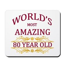 80th. Birthday Mousepad
