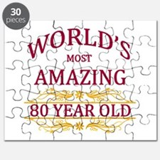 80th. Birthday Puzzle