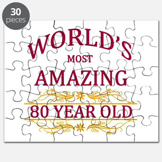 80th. Birthday Puzzle