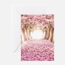 Romantic Road Greeting Cards