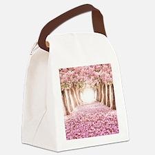 Romantic Road Canvas Lunch Bag