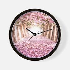 Romantic Road Wall Clock