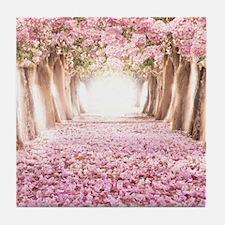 Romantic Road Tile Coaster