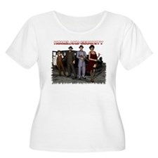 Homeland Security Plus Size T-Shirt