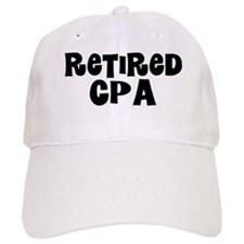 Retired CPA Baseball Baseball Cap