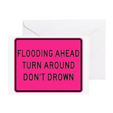 Flooding Ahead! Greeting Card