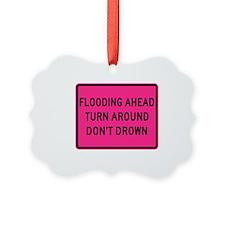 Flooding Ahead! Ornament