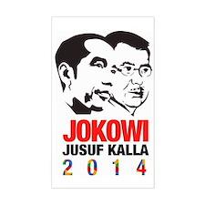 Joko Widodo -  Jusuf Kalla - J Decal