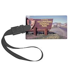 Leaving Yellowstone Luggage Tag