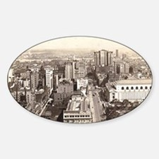 42nd St., NYC Vintage Sticker (Oval)