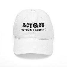 Retired materials scientist Baseball Baseball Cap