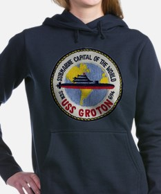 USS GROTON Women's Hooded Sweatshirt