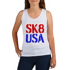 SK8 USA Women's Tank Top
