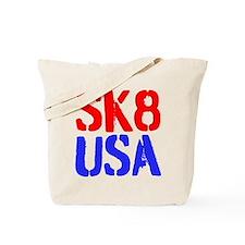 SK8 USA Tote Bag