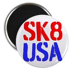 SK8 USA Magnet